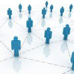 Social media LinkedIn symbol image